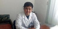 Клинический руководитель центра семейной медицины города Балыкчи Азиз Мамбеталиев