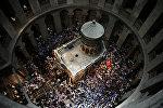 Архивное фото храма Гроба Господня в Иерусалиме