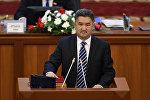 Кыргызстан фракциясынын лидери Алмазбек Баатырбеков. Архивдик сүрөт