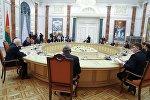 Минск шаарында өткөн Евразия өкмөттөр аралык кеңешинин жыйыны