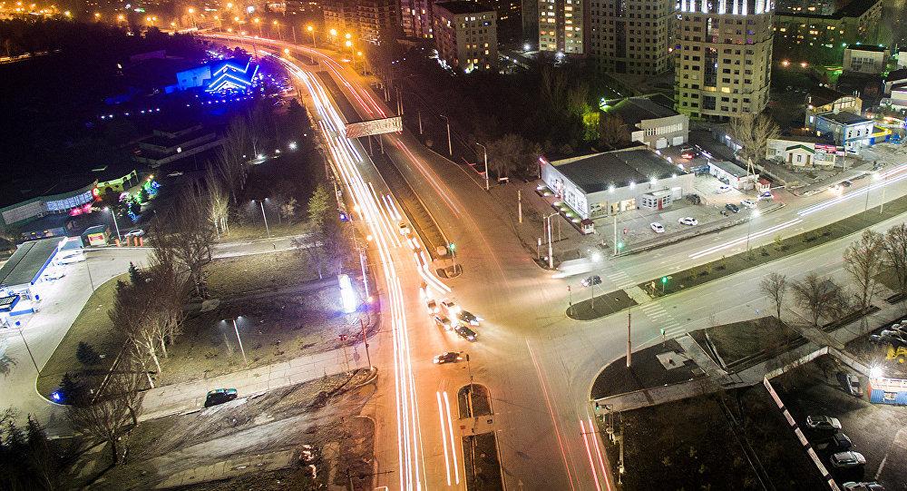 Бишкек шаарынан көчөлөрү. Архивдик сүрөт