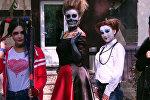 Харли Квин, Малефисента и мертвая невеста в Бишкеке — подготовка к Хэллоуину