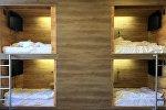 Капсульный одноместный отель в Бишкеке