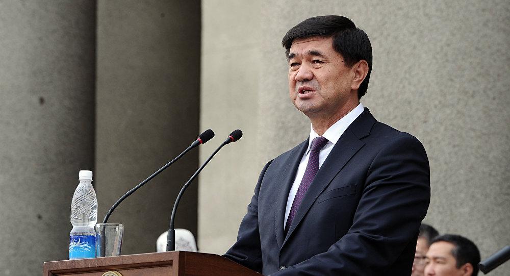 Архивное фото первого вице-премьер-министра Мухамметкалыя Абулгазиева