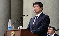Премьер-министрликке талапке Мухамметкалый Абулгазиевдин архивдик сүрөтү