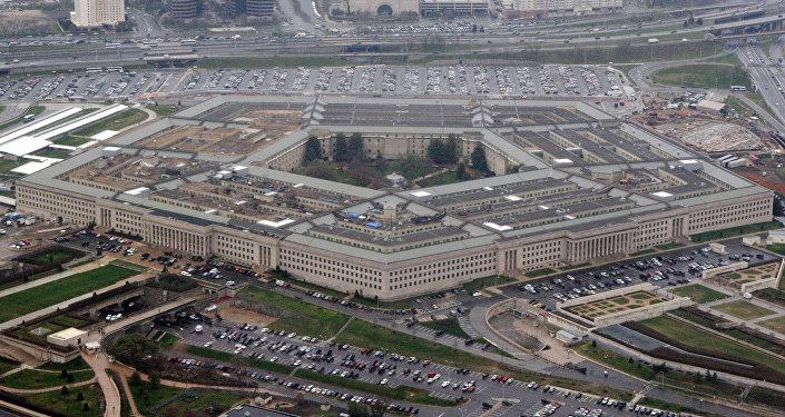Вид на Пентагон, штаб-квартира Министерства обороны США в Вашингтоне. Архивное фото