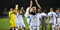 Футболисты сборной Кыргызстана после матча. Архивное фото