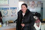 Баткен облустук медицина борборунун дарыгер-эндокринологу Тажиниса Шорохова