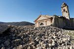 Италиядагы магнитудасы 6,5ге жеткен жер титирөөдөн жабыркаган чиркөө