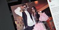 Снимок с социальной сети Instagram пользователя theworldismythrone. Молодые казахстанцы в национальных костюмах, надетых на Хэллоуин. Архивное фото
