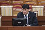 Өнүгүү — Прогресс фракциянын лидери Бакыт Төрөбаевдин архивдик сүрөтү