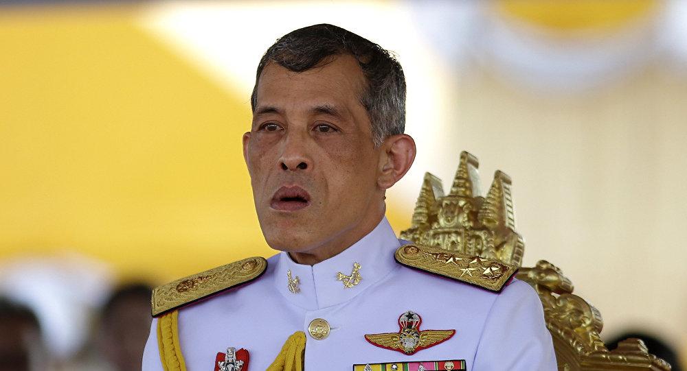 Таиланддын мураскер ханзаадасы Маха Вачиралонгкорндун архивдик сүрөтү