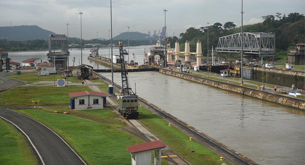 Панамский канал. Архивное фото