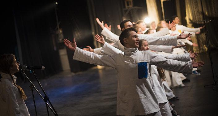В Государственном национальном Русском театре драмы имени Чингиза Айтматова выступили артисты Детского музыкального театра юного актера Москвы