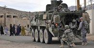Солдаты армии США в одном из сел Афганистана. Архивное фото