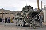 Солдаты армии США в одном из сел Афганистана