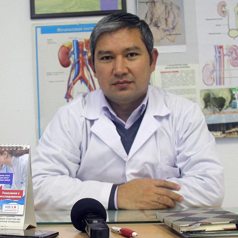 Гролог-андролог высшей категории Нурлан Эгетаев
