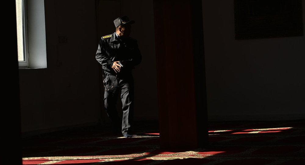 Сотрудник милиции. Архивное фото