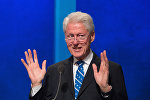 Архивное фото бывшего президента США и основателя Фонда Клинтон Билла Клинтона