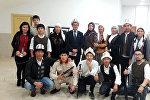 Түркиянын Сакарья шаарындагы Сакарья университетинде окуган кыргызстандык студенттер