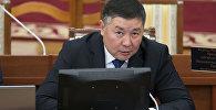 Кандидат в спикеры лидер фракции Кыргызстан Канат Исаев