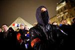 Францияда жүздөгөн полиция кызматкерлери Париждин борборунда бийликке жана полиция жетекчилигине нааразы болуп каршылык акциясына чыгышты
