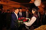 Кыргызстанга өкмөт башчы Дмитрий Медведев башында турган россиялык делегация келди