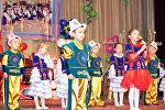 Выступление детей на фестивале Кыргызские национальные игры в национальном центре детей и юношества Сейтек в Бишкеке