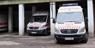 Автомобили Бишкекского отделения скорой помощи. Архивное фото