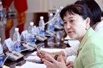Депутат Айнуру Алтыбаеванын архивдик сүрөт