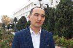 Өкмөттүн Оштогу өкүлчүлүгүнүн маалымат катчысы Жумамидин Сулайманкулов