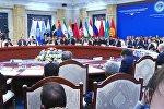 Экономика, акча жана коопсуздук. Бишкекте ШКУ саммити өттү