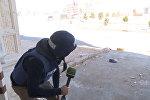 Съемочная группа RT под обстрелом боевиков в Алеппо. Момент инцидента
