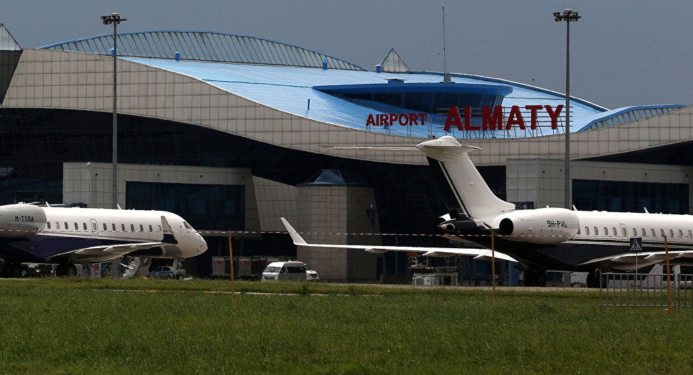Аэропорт Алматы в Казахстане