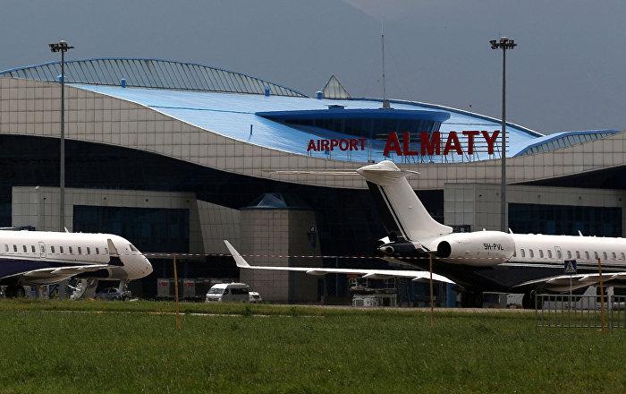 Аэропорт Алматы в Казахстане. Архивное фото