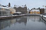 Швециядага Мальме шаары. Архивдик сүрөт