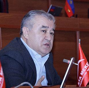 Депутат Жогорку Кенеш, Текебаев Омурбек. Архивное фото