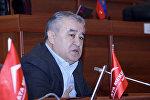 Ата Мекен лидери Өмүрбек Текебаевдин архивдик сүрөтү