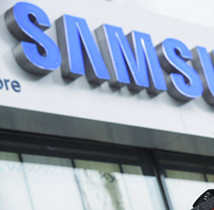 Samsung магазини. Архивдик сүрөт