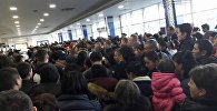 Задержка рейсов в аэропорту Манас из-за метеоусловий