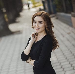 Актриса Рахат Божокоеванын архивдик сүрөтү