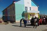 Нарын облусунун Ак-Талаа районундагы Терек айыл аймагында ачылган бала бакча