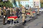 Церемония принятия присяги военнослужащими Юго-западного регионального командования в Оше