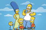 Персонажи мультсериала Simpsons (Симпсоны). Архивное фото