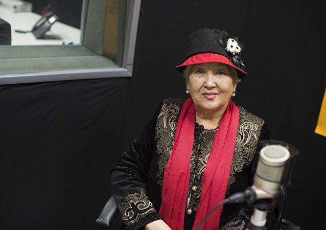 Народная артистка Кыргызстана, оперная певица Дарика Жалгасынова