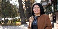 Известный стилист, визажист, дизайнер одежды Замира Молдошева