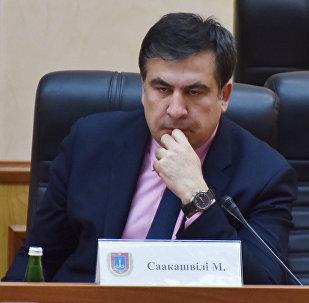 Грузиянын экс-президенти, Одесса облусунун экс-губернатору Михаил Саакашвилинин архивдик сүрөтү