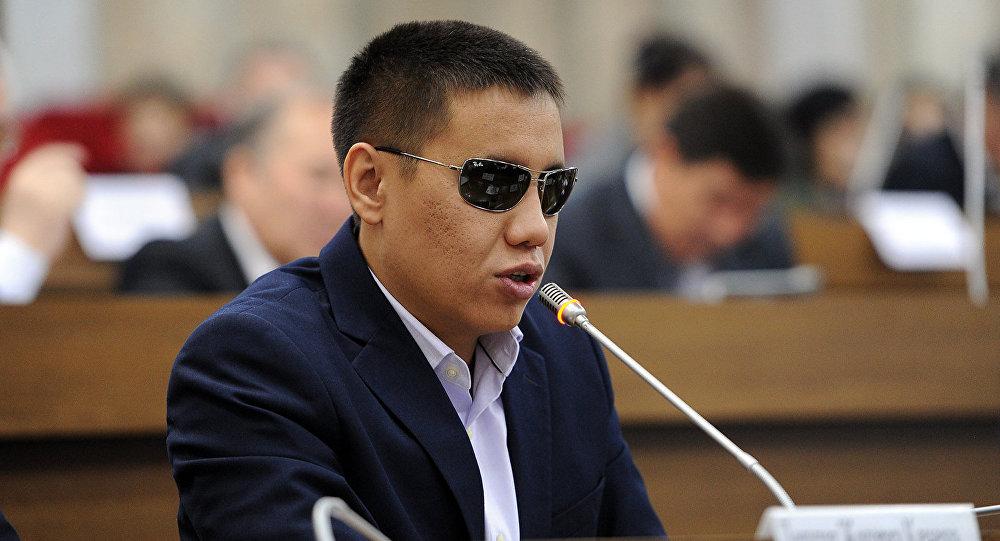 КСДП фракциясынын депутаты Дастан Бекешовдин архивдик сүрөтү