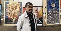 Выставка художника Асатилла Тешебаева в Москве