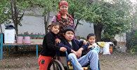 Помощь семье Гульмире Жакыповой у которой шестеро детей